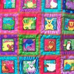 Animal ABC wall hanging/ pl..