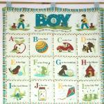 Alphabet Boys Blue Quilted..